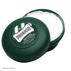 Мыло для бритья с экстрактом эвкалипта и ментола Proraso 150 мл.