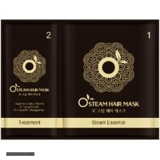 Реструктурирующая термо-маска для волос Moran Steam Hair Mask) 25 мл.