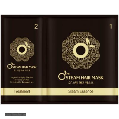 Реструктурирующая термо-маска для волос Moran Steam Hair Mask 25 мл.
