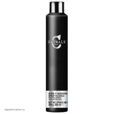 Лак для волос средней фиксации, 300 мл TIGI Catwalk Session Series Work It Hairspray