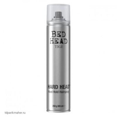 Лак суперсильной фиксации TIGI Bed Head Hard Head, 385 мл