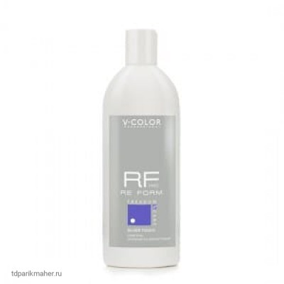 Шампунь Серебристо-Фиолетовый V-COLOR RE FORM Pro Silver Touch 500мл.