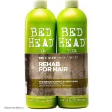 Шампунь и кондиционер для нормальных волос уровень 1, 2х750 мл TIGI Bed Head Urban Anti+dotes Re-Energize