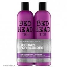 Набор для блондинок Tigi Bed Head 2*750 мл