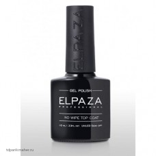 Топ Elpaza без липкого слоя No Wipe Top Coat, 10 мл