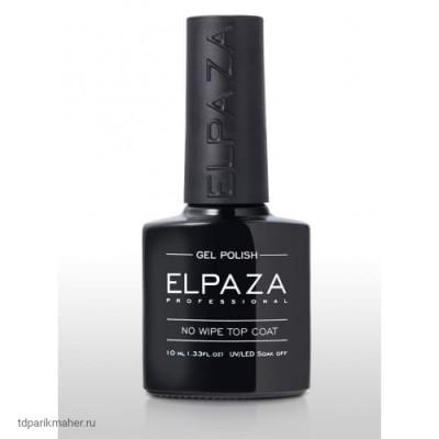 Топ Elpaza без липкого слоя No Wipe Top Coat, 10 мл
