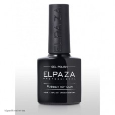 Топ Elpaza с липким слоем Rubber Top Coat, 10 мл