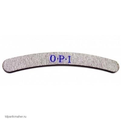 Пилка для ногтей O.P.I бумеранг 80/100