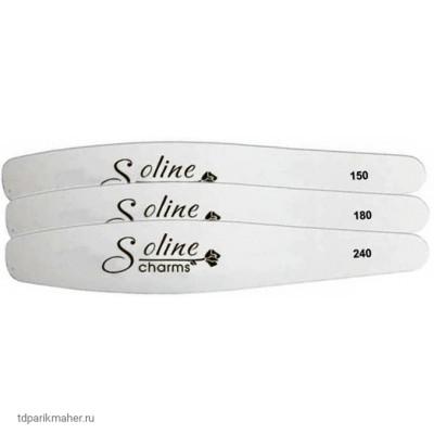 Пилка Soline Charm закругленный ромб 150, 180, 240 грит