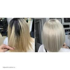 Идеальный холодный серебристо-пепельный блонд