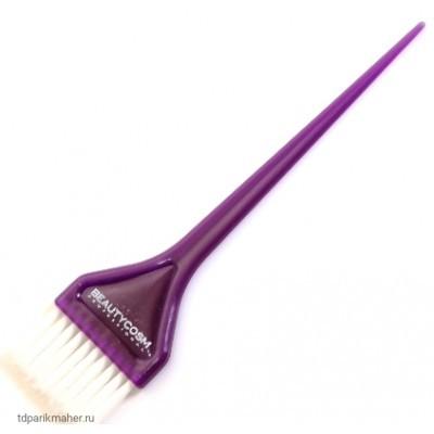Кисть V-COLOR для окрашивания фиолетовая