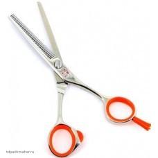 Парикмахерские ножницы TAYO ORANGE TS30455 филировочные 5,5