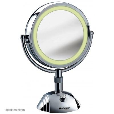 Зеркало косметическое Babyliss 8438E с подсветкой, 18 см