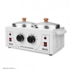 Двойной воскоплав Double Wax Warmer 2x400 мл